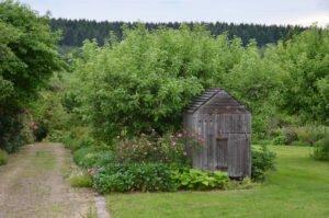 Cabane du jardin